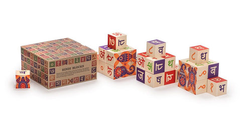 Uncle Goose Wooden HIndi Blocks