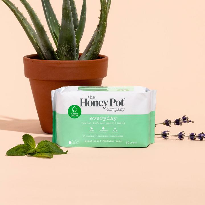 The Honey Pot Everyday Herbal Pantiliners