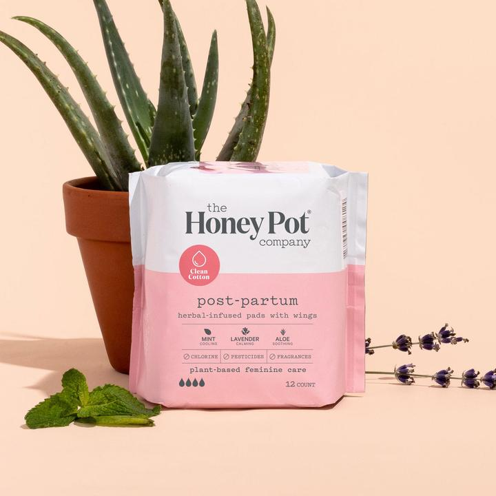 The Honey Pot Postpartum Feminine Pads