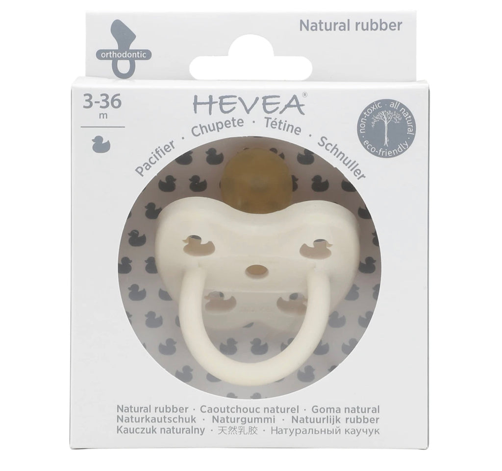 Hevea Snow White Orthodontic Pacifier (3-36m)