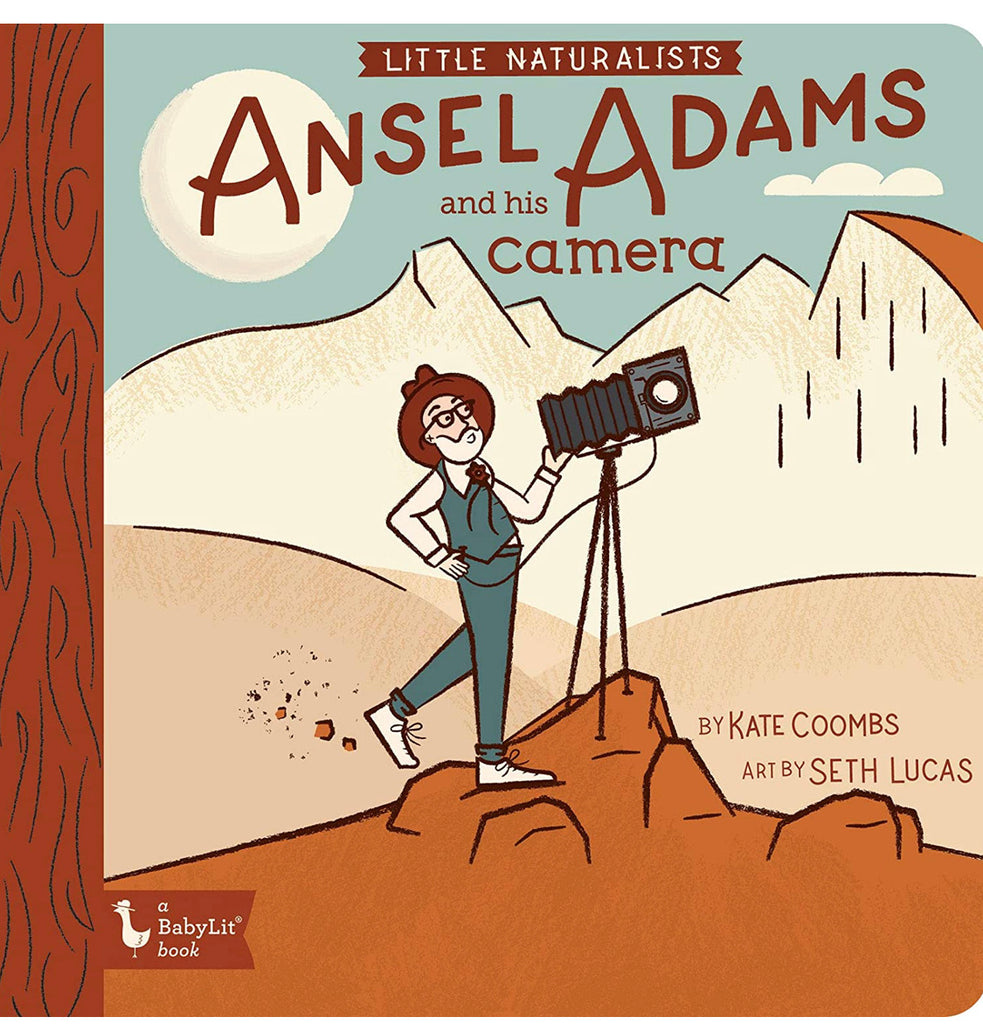 BabyLit Ansel Adams and his camera