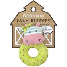 Apple Park Organic Farm Buddies Teething Rattle
