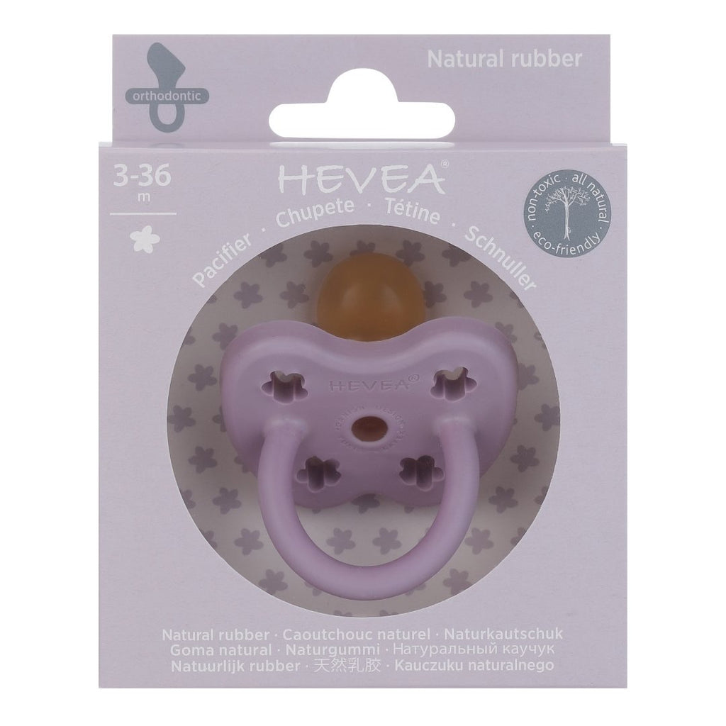 Hevea Lavender Orthodontic Pacifier (3-36m)