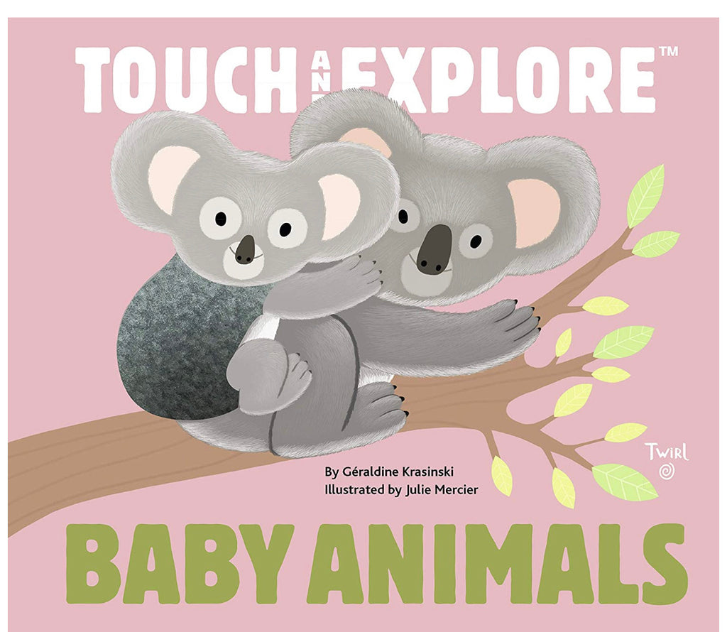 Touch and Explore Baby Animal Book