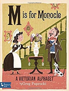 Baby Lit M is for Monocle