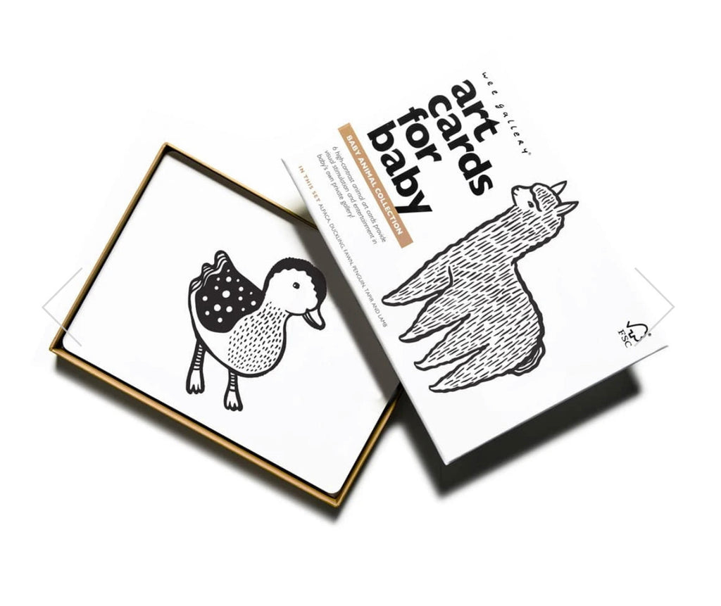 Wee Gallery Baby Animal Art Cards