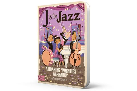 Baby Lit J is for Jazz