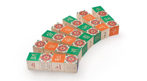 Uncle Goose Wooden Korean Blocks