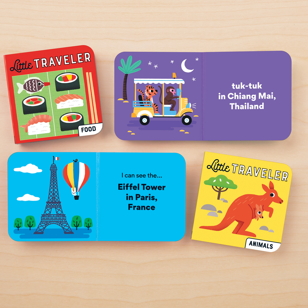 Mudpuppy  Little Traveler Board Book Set