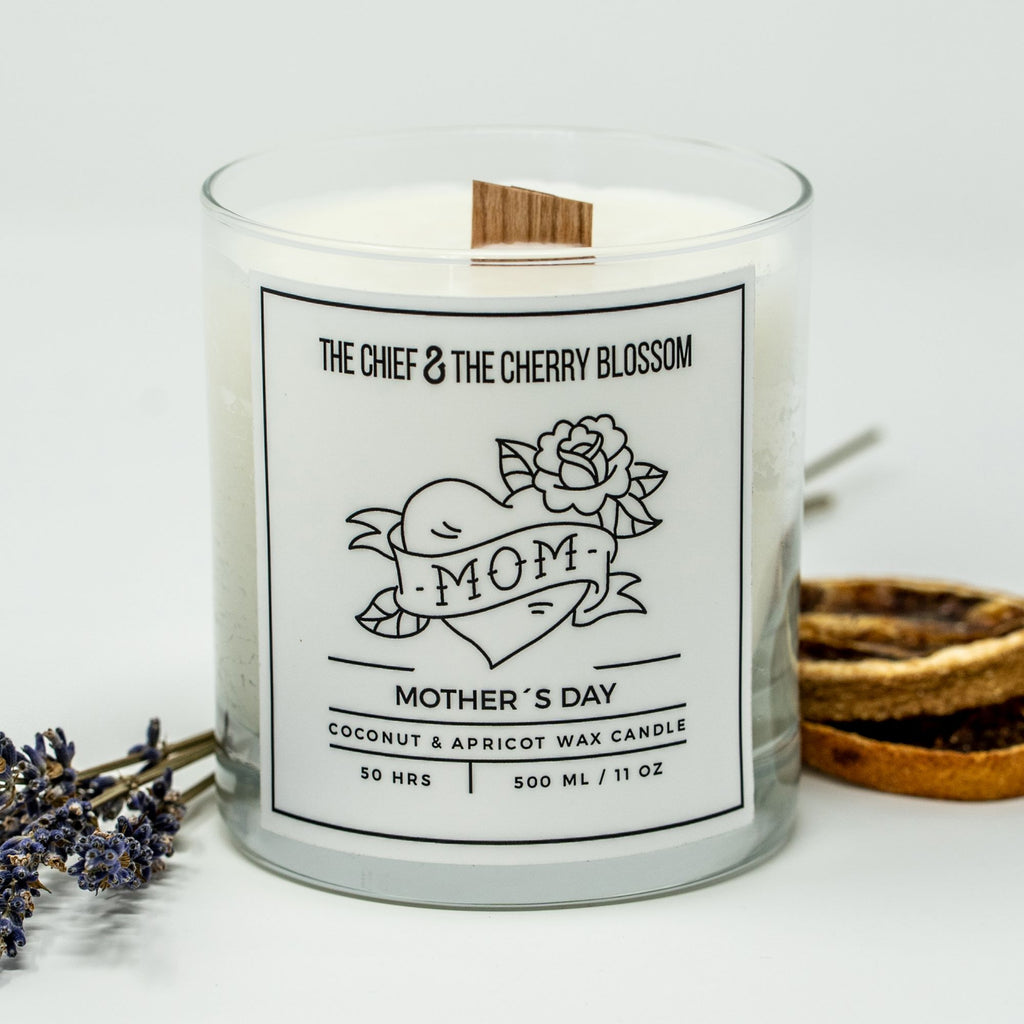 The Chief & The Cherry Blossom - Mother's Day Candle