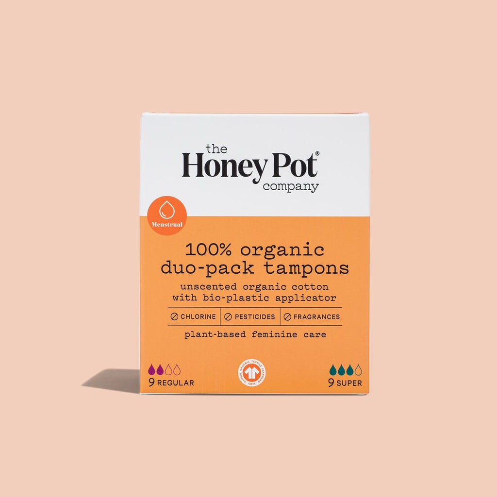 The Honey Pot Duo-Pack Tampons