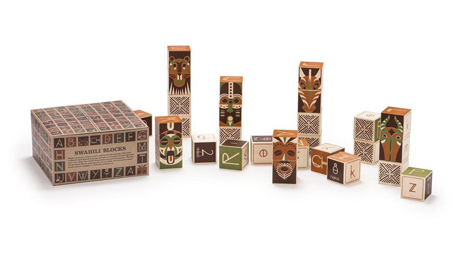 Uncle Goose Swahili Blocks