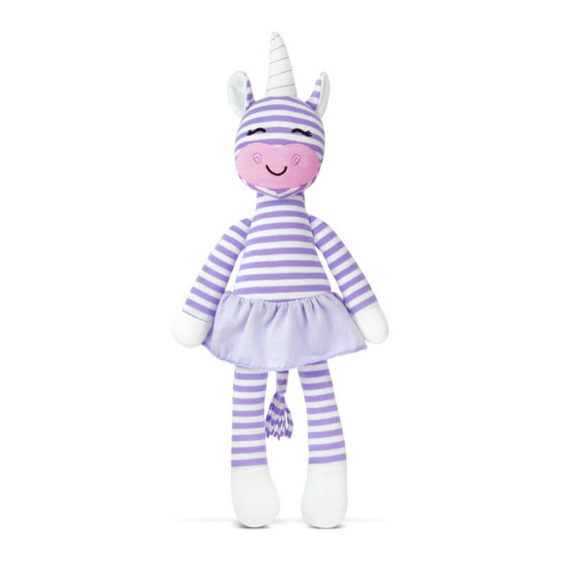 Apple Park Organic Farm Buddies Cupcake the Unicorn Plush Toy