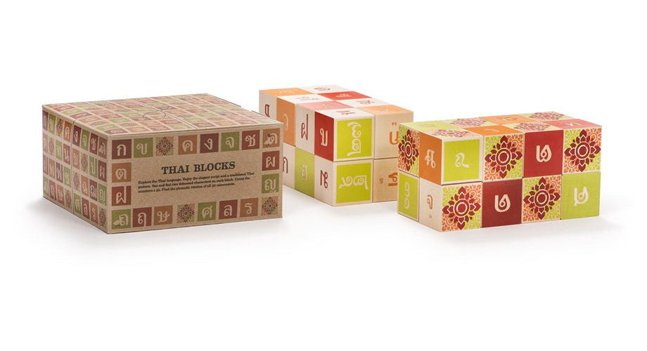 Uncle Goose Wooden Thai Blocks
