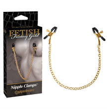 FF GOLD - NIPPLE CLAMPS