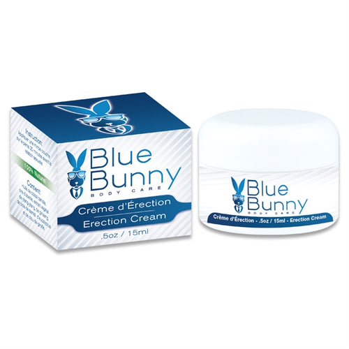 BLUE BUNNY CREME D ERECTION