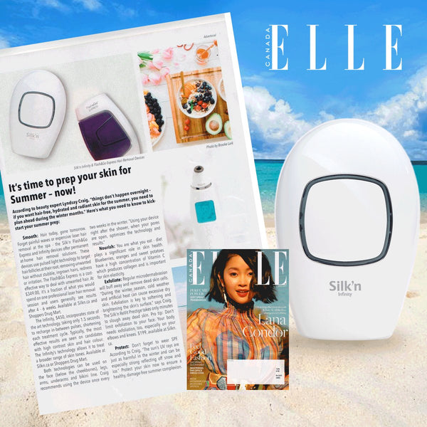Silk'n elle magazine ipl hair removal