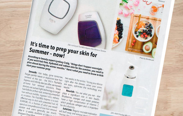 Silk'n Elle magazine hair removal