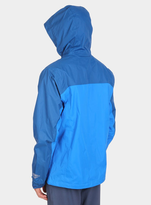 Куртка Columbia Pouring Adventure Jacket NE - hyper blue/blue marine