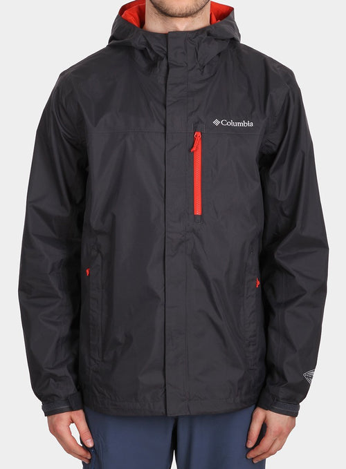 Куртка Columbia Pouring Adventure Jacket NE - акула/super sonic