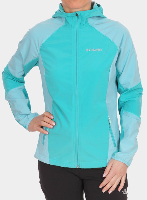Куртка Columbia Sweet AS Softshell Hoodie Lady - miami/iceberg