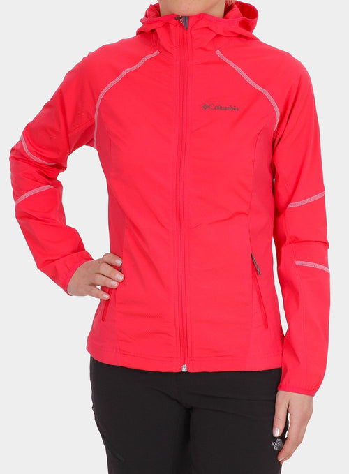 Куртка Columbia Sweet AS Softshell Hoodie Lady- red camellia