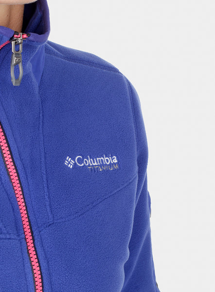 Фліс Columbia Titan Pass II 2.0 Fleece - dynasty/black/pink punch