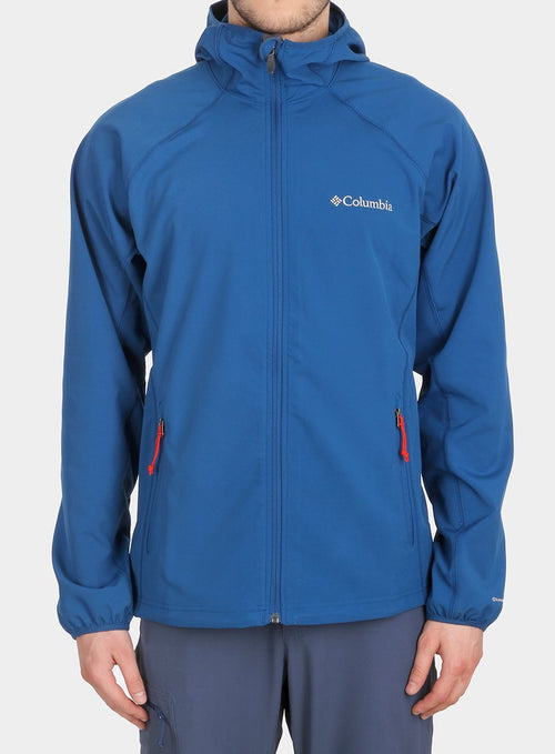 Куртка Columbia Whisper Creek Softshell - marine blue