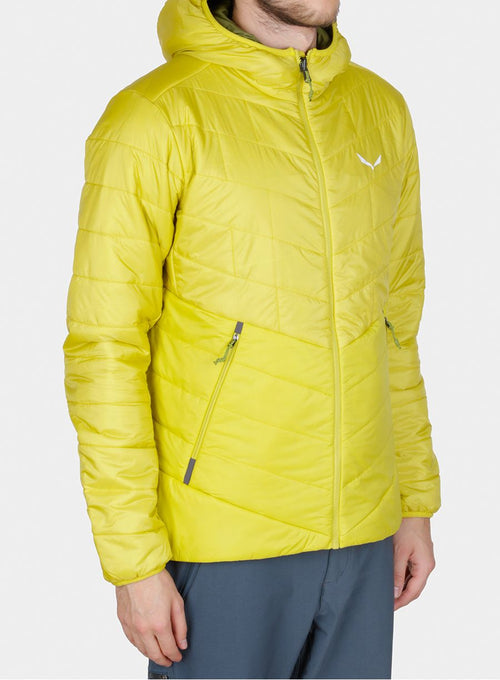 Куртка Salewa Fanes TW CLT Hood Jacket - kamille yellow