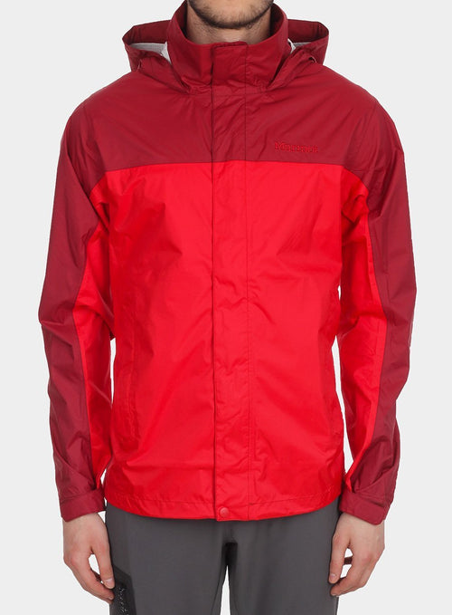 Куртка Marmot Precip Jacket - team red/brick