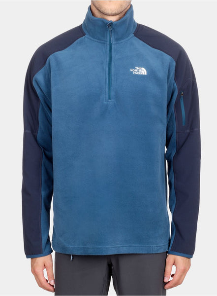 Фліс The North Face Glacier Delta 1/4 Zip - monterey blue