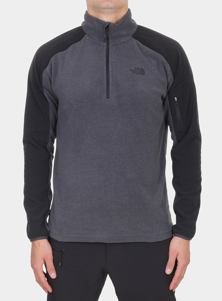 Фліс The North Face Glacier Delta 1/4 Zip - tnf dark grey heather