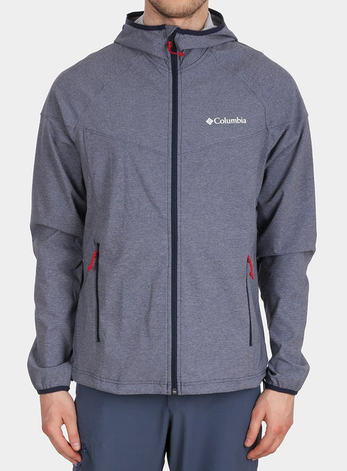 Softshell Columbia Heather Canyon Jacket - collegiate navy heather