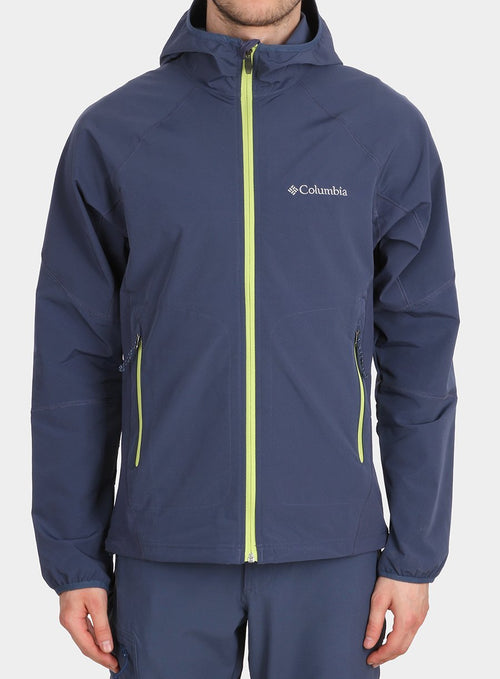 Легкий softshell Columbia Sweet As II Softshell сіра ворона - zinc