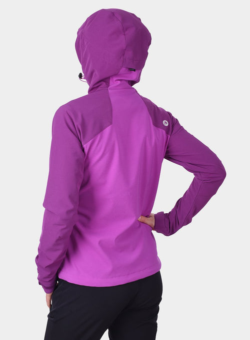 Жіноча softshell Marmot Estes Hoody - neon berry/grape