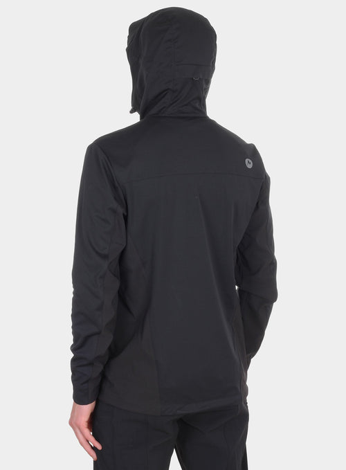 Softshell Marmot ROM Jacket - black
