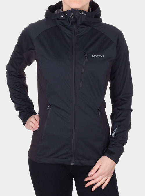 Softshell Marmot ROM Jacket Lady - black