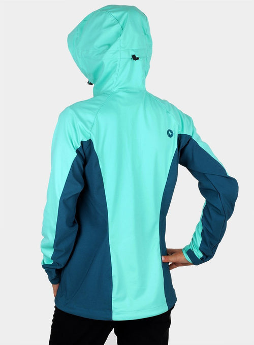 Softshell Marmot ROM Jacket Lady - селтік/deep teal