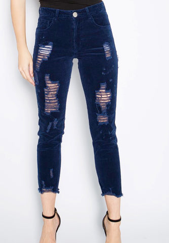 Distressed cords