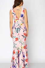 Load image into Gallery viewer, Floral mermaid dress