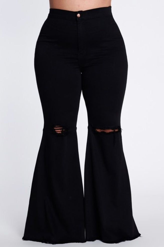 """Ring My Bell"" wide leg jeans"