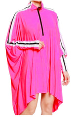 Load image into Gallery viewer, Oversized cape dress (2 colors)