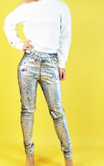 Load image into Gallery viewer, Sequin pants