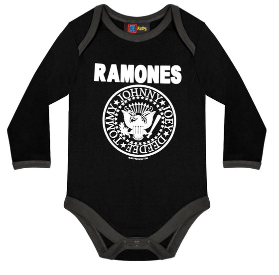 Amplified Kids The Ramones Logo Babygrow