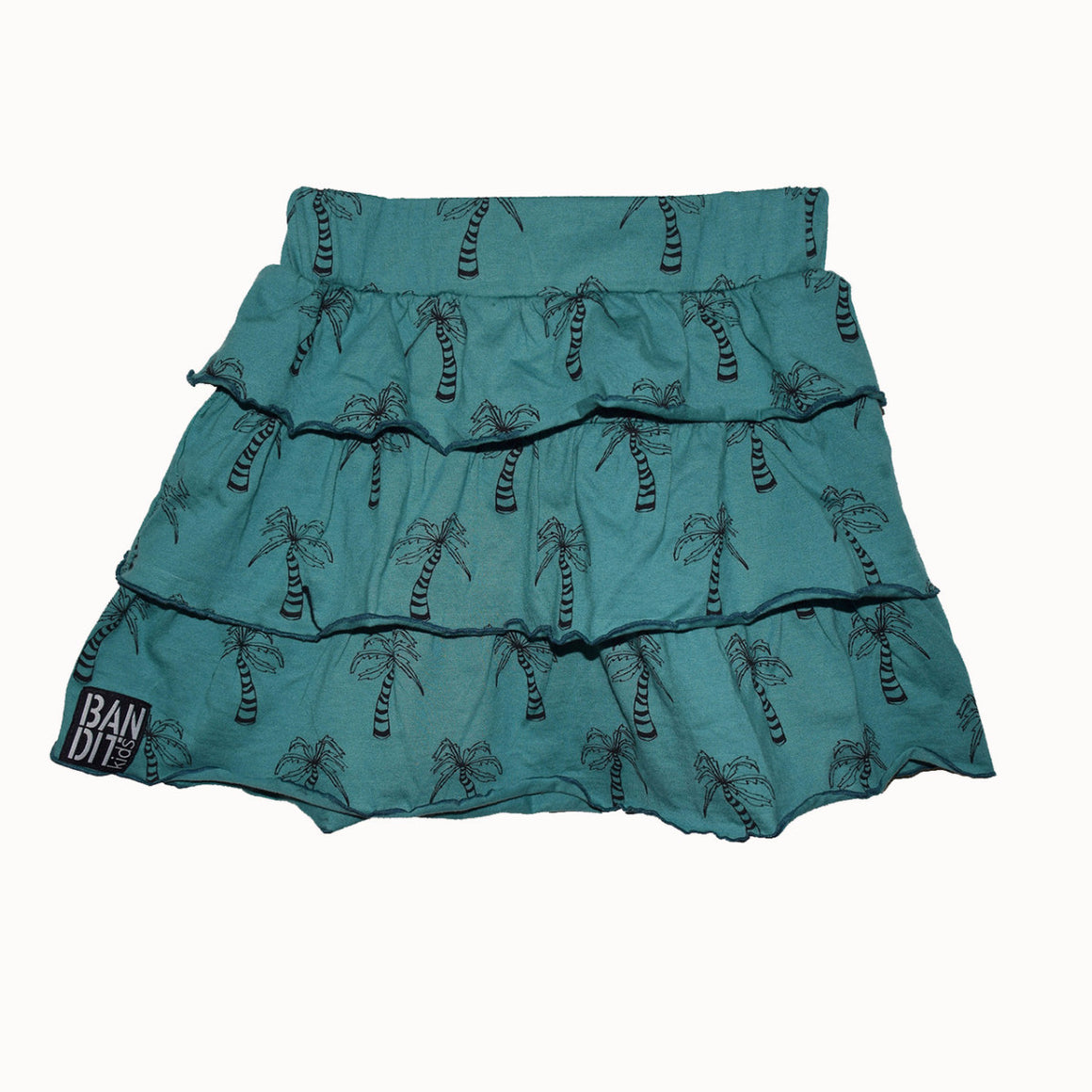 Bandit Kids Emerald Rah Rah Skirt
