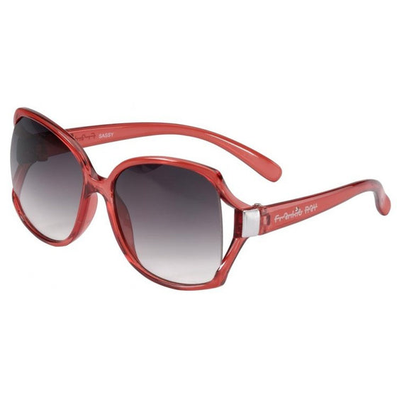 Frankie Ray Red Sassy Sunglasses