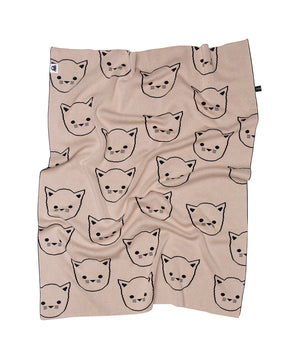 Huxbaby Hux Cat Knit Blanket