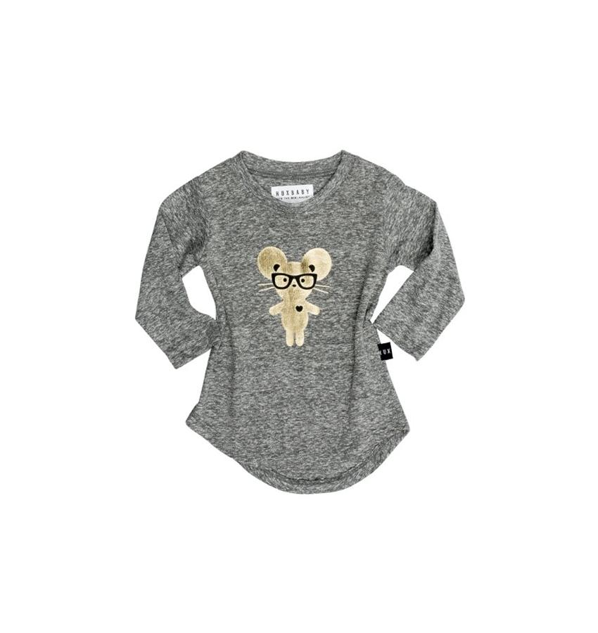 Huxbaby Mouse Long Sleeve Top