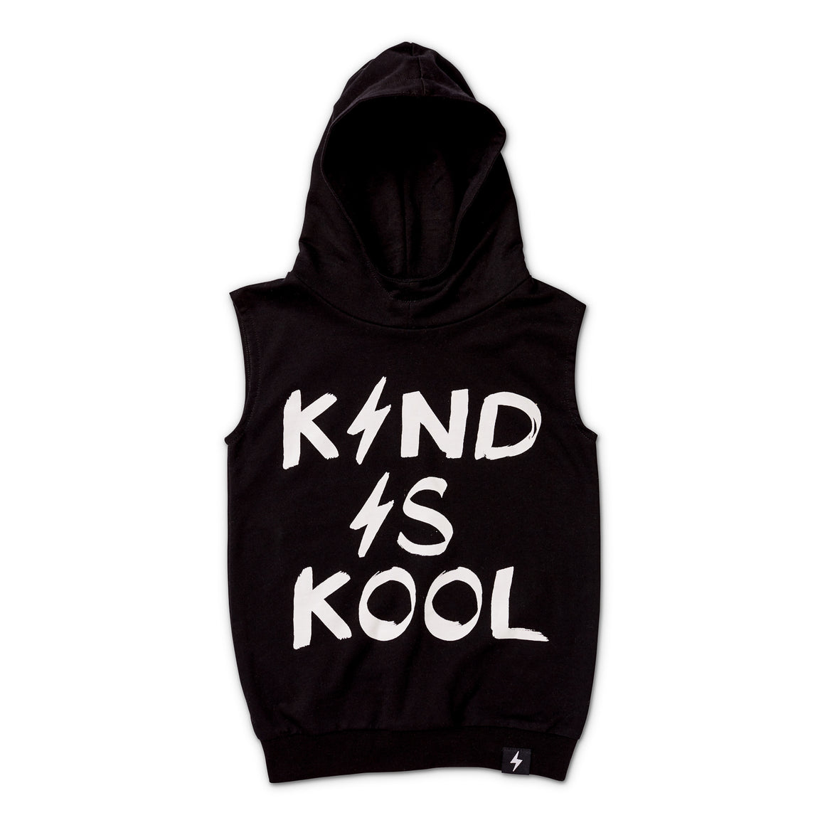 Kapow Kids Kind Is Kool Sleeveless Hooded Vest