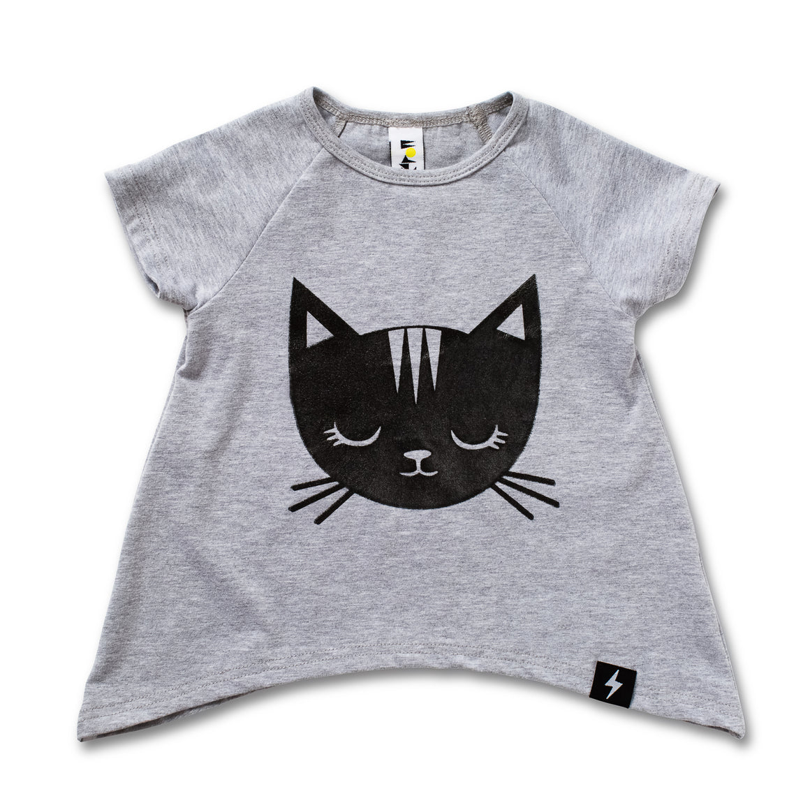 Kapow Kids Jungle Kitty Raglan T-shirt